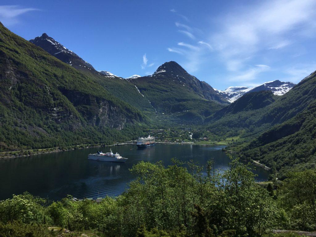 Wandelen rond het Geirangerfjord