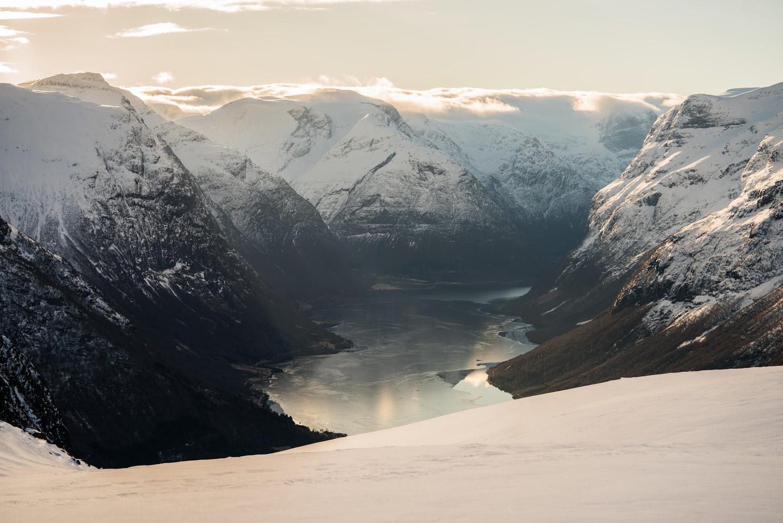 Dé reden waarom je naar Noorwegen gaat is natuurlijk de natuur en die is helemaal gratis! - Fotocredit: Bård Basberg/Loen Skylift