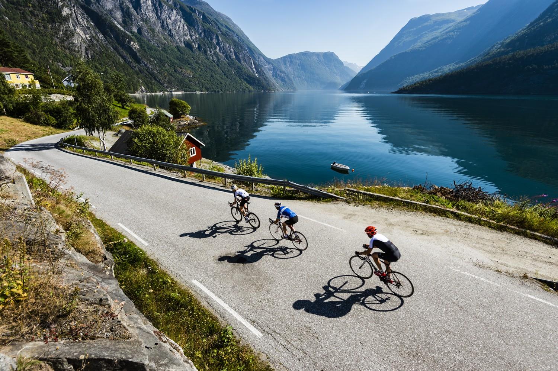 Racefietsen in Noorwegen