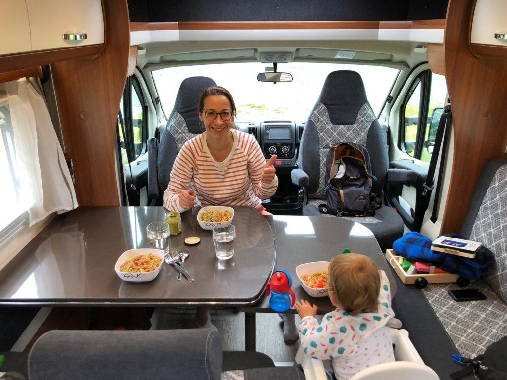 Met de camper naar Noorwegen 1