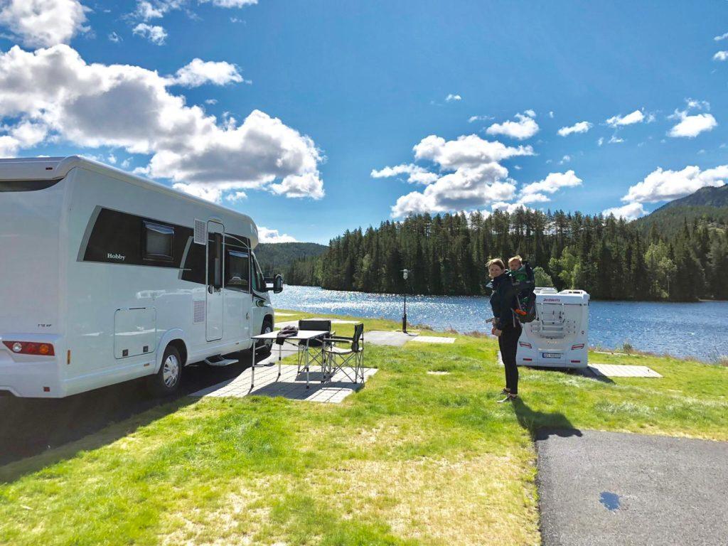 Met de camper naar Noorwegen 2